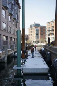Boston Fire Dept Dock Install